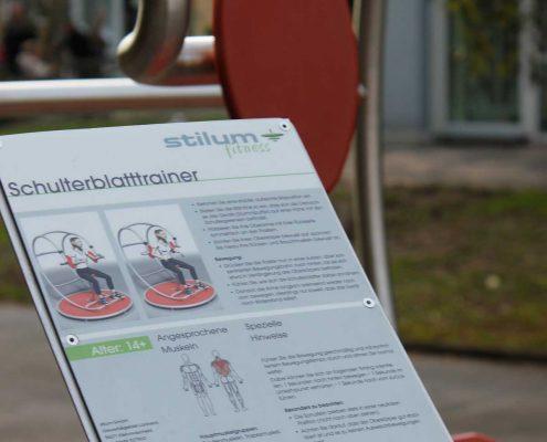 Aggertalklinik mit Stilum Outdoor-Fitnessgeräten-2
