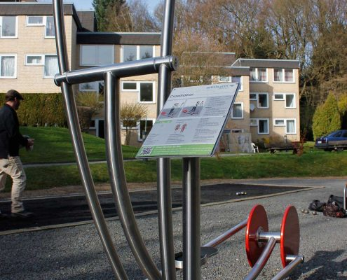 Aggertalklinik mit Stilum Outdoor-Fitnessgeräten
