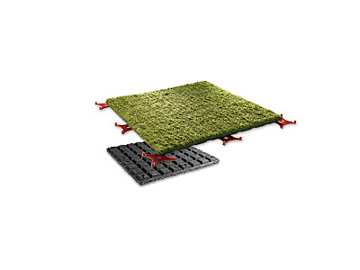 Artificial turf slab -Preview