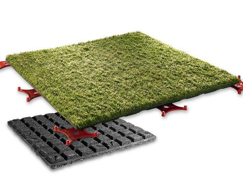 Artificial turf slab _1