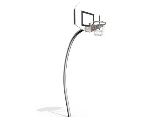 Basketballkorb Edelstahl