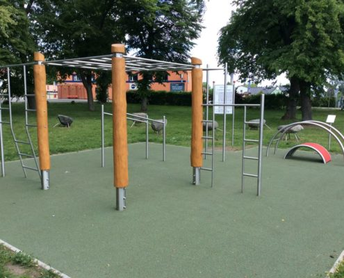 Outdoor Fitness Calisthenics in Angermünde