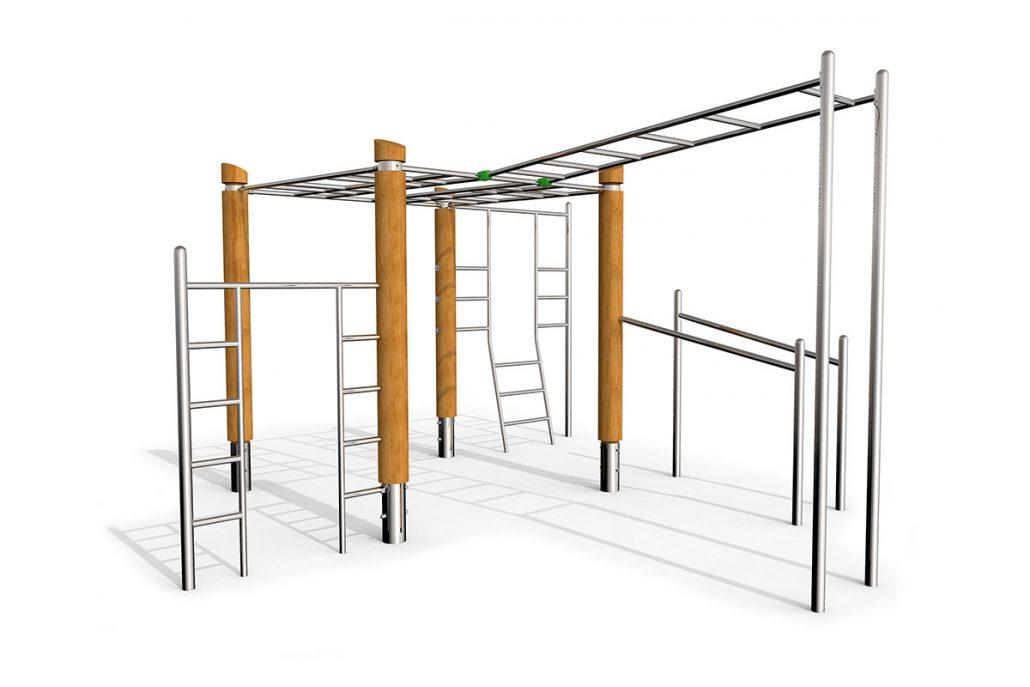 Klettergerüst Robinie : Calisthenics robinie stilum outdoor fitnessgeräte