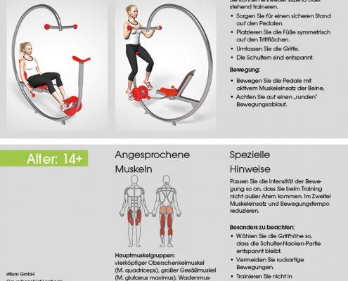Fitnessfahrrad Trainingsanleitung