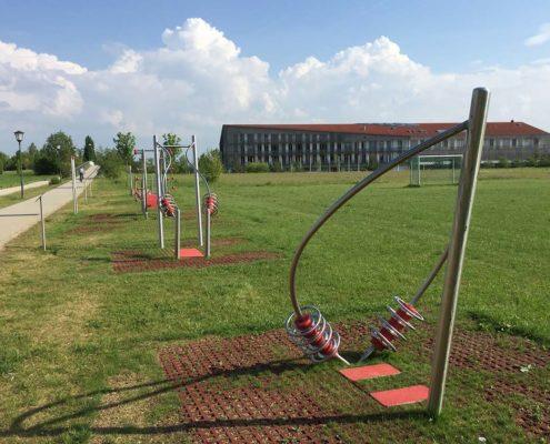 Fitnessparcours in Aschheim