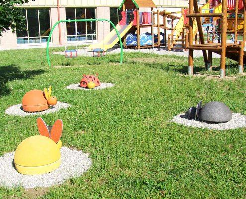 Kleinkindspielatz in Ungarn