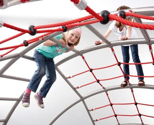 "Klettergerüst ""collis"" - Kletternetz mit Kindern"