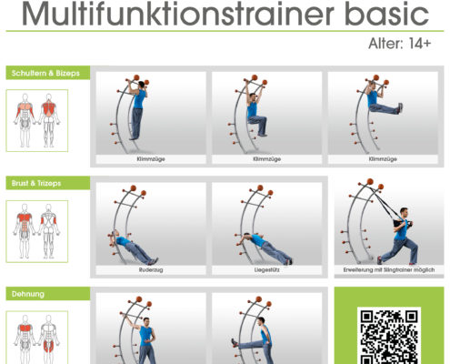 stilum Multifunktionstrainer Trainingsanleitung