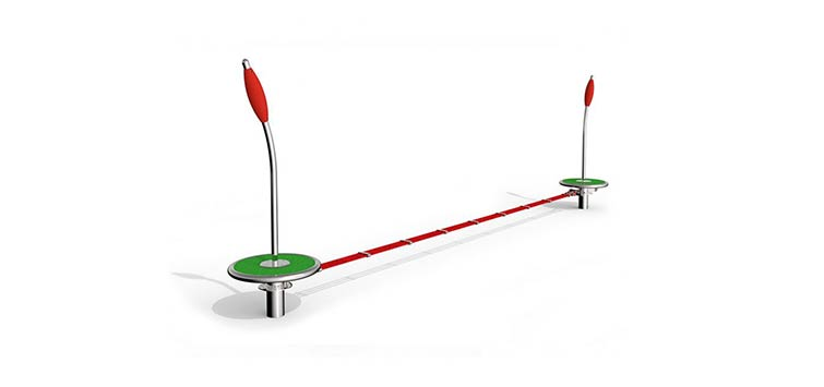 Outdoor Fitness Equipment Slackline