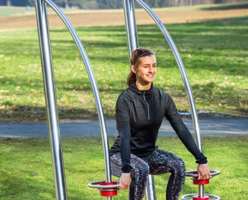 Outdoor-Fitness Squat Foto2