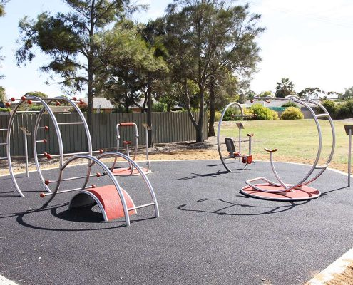 Outdoor-Fitnesspark in Australien 2