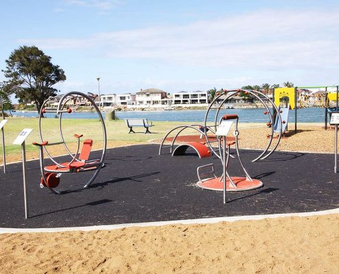 Outdoor-Fitnesspark in Australien