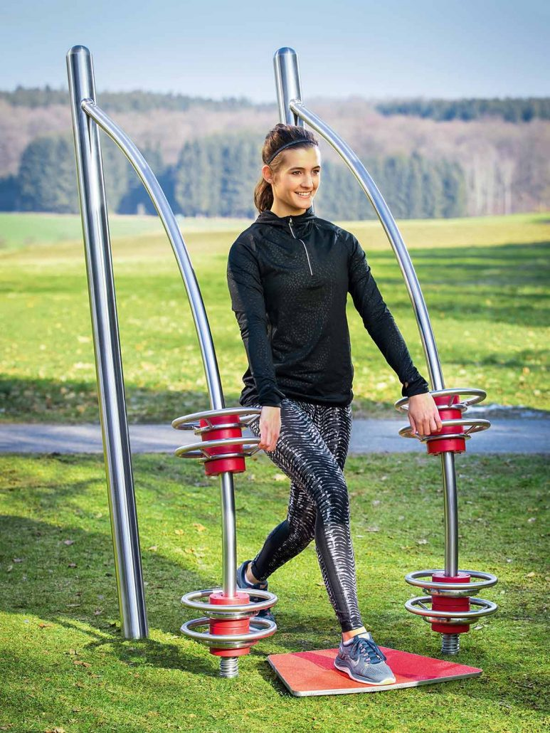 Outdoor Fitness Equipment : Squat stilum outdoor fitness equipment