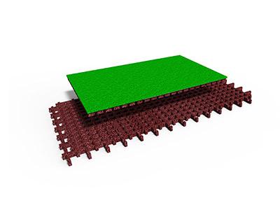 plug play fallschutzplatte stilum fallschutz. Black Bedroom Furniture Sets. Home Design Ideas
