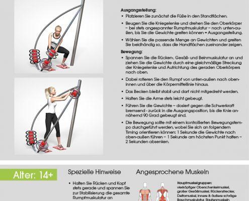 Rotationstrainer Trainingsanleitung