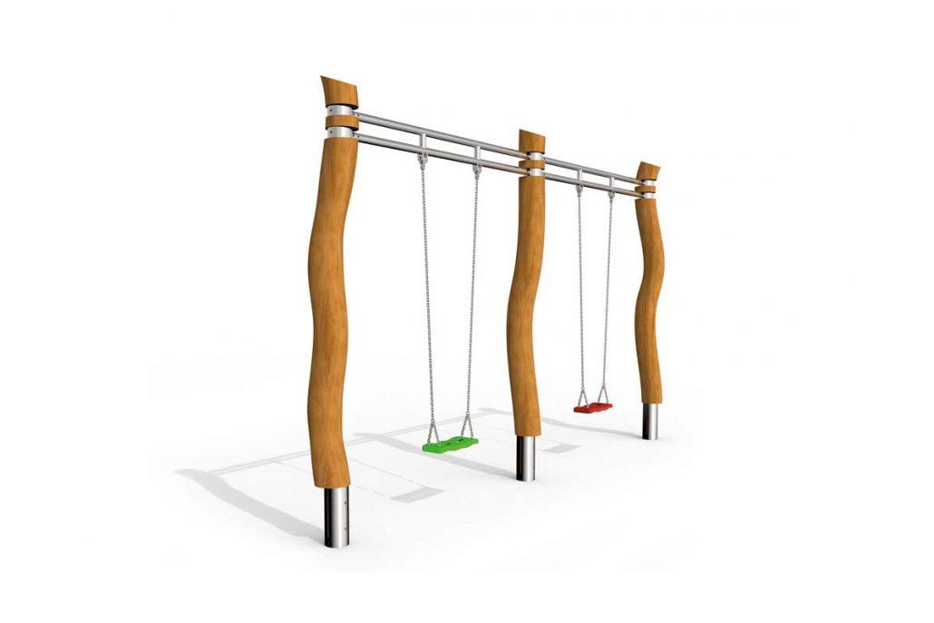 schaukel patis2 robinie stilum spielplatzger te. Black Bedroom Furniture Sets. Home Design Ideas
