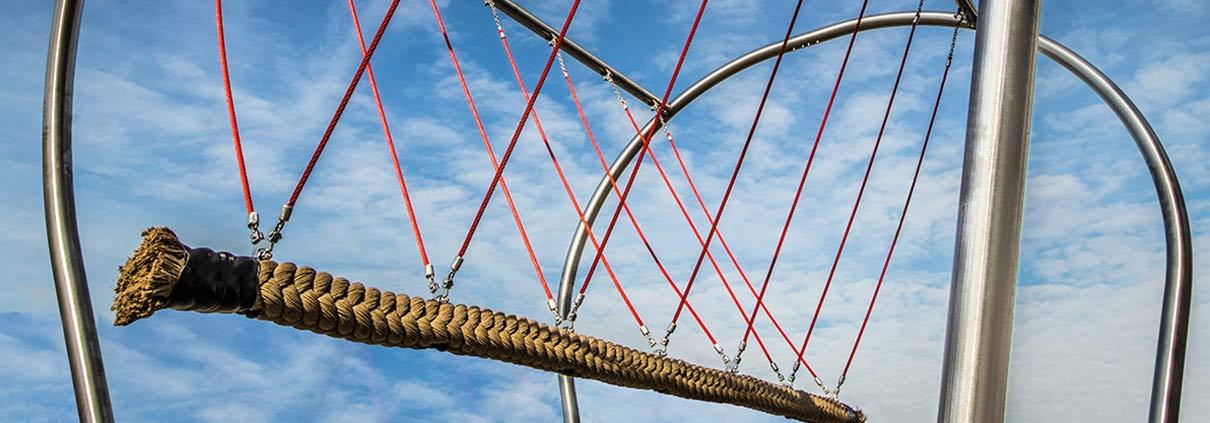 Neu bei Stilum: Seilschaukel vanno