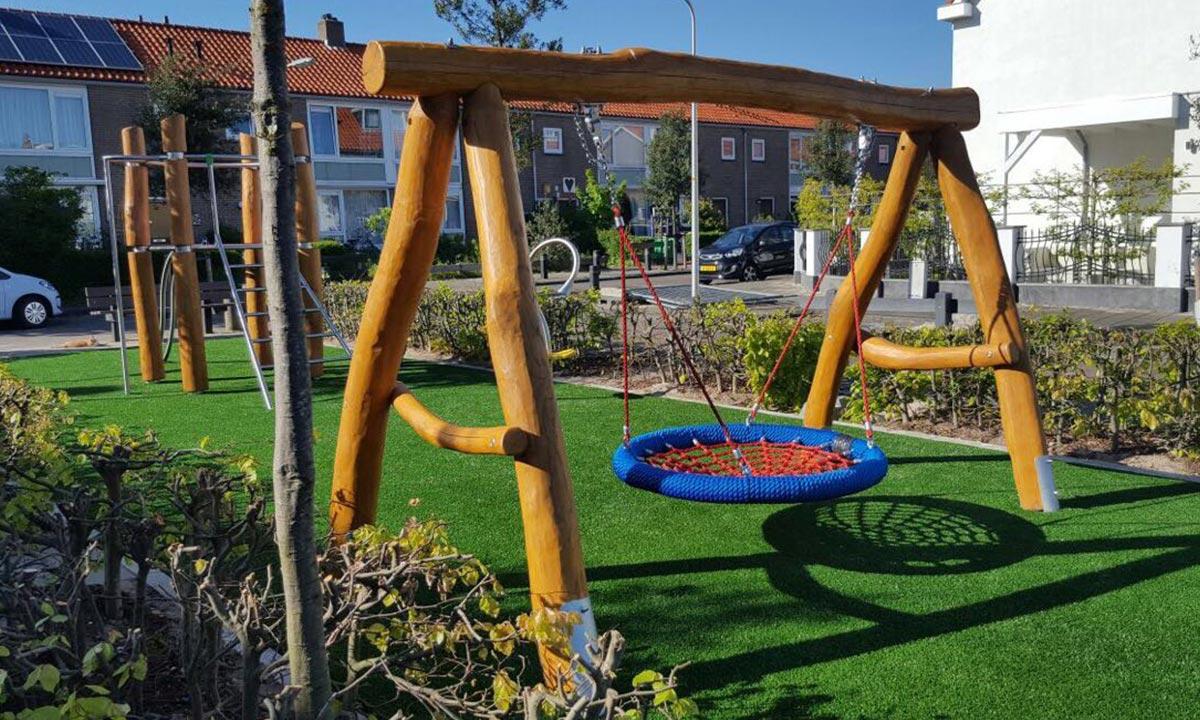 Klettergerüst Robinie : Spielplatzgeräte aus robinienholz in den niederlanden stilum