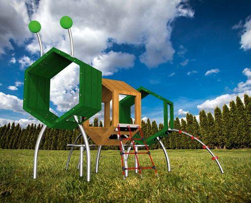 Spielplatzgeraete für Kleinkinder tamino1 -fuer-Kleinkinder-tamino1-foto2 auf einer Wiese