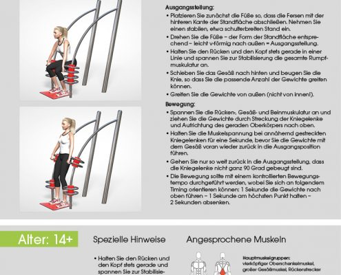 Squat Trainingsanleitung