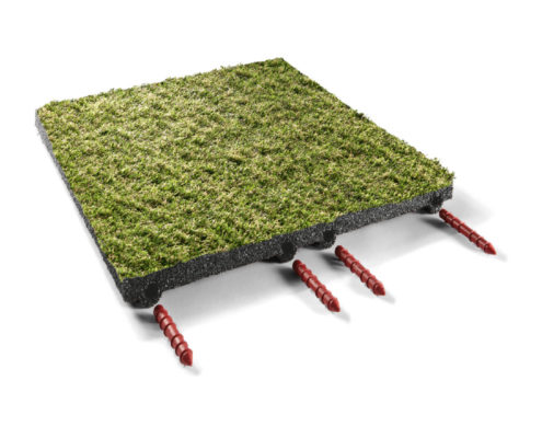 Teppichplatte
