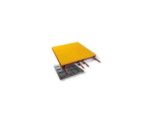 EPDM Fallschutzplatte 45 mm