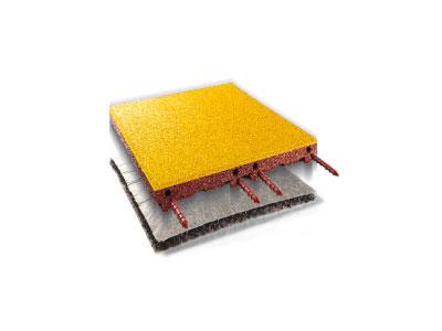 EPDM Fallschutzplatte safe-system Vorschau