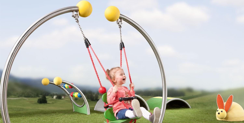 Kleinkind-Spielplatzgeräte