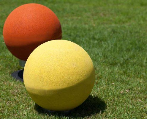 Rubber-granulate balls