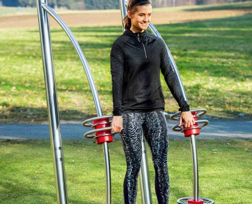 Outdoor-Fitness Squat Foto4