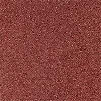 Safety slabs made of redbrown rubber granulate